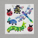 Sandylion Bugs Stickers Rare Vintage PM102