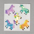Sandylion Unicorn Stickers Rare Vintage PM192