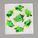 Sandylion Sea Turtles Stickers Rare Vintage PM195
