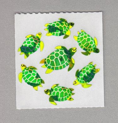 Sandylion Sea Turtles Stickers Rare Vintage PM195