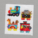 Sandylion Animal Train Stickers Rare Vintage PM236