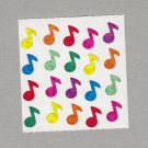 Sandylion Musical Notes Stickers Rare Vintage PM288