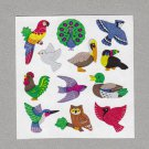 Sandylion Birds Stickers Rare Vintage PM345