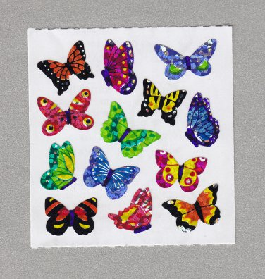 Sandylion Butterflies Stickers Rare Vintage PM347