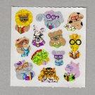 Sandylion Animals Wearing Glasses Stickers Rare Vintage PM359