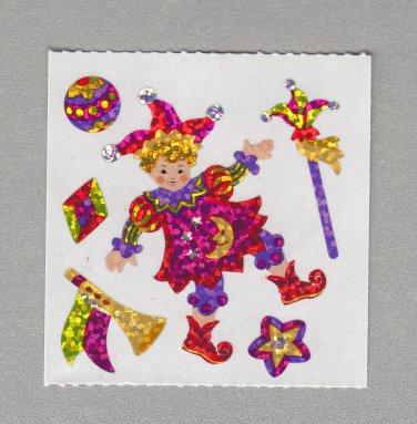 Sandylion Court Jester Stickers Rare Vintage PM378