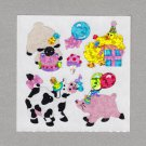 Sandylion Party Farm Animals Stickers Rare Vintage PM379