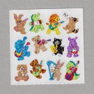 Sandylion Animals Playing Music Stickers Rare Vintage PM383