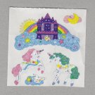 Sandylion Unicorns and Castles Stickers Rare Vintage PM401