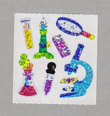 Sandylion Science Lab Stickers Rare Vintage PM405