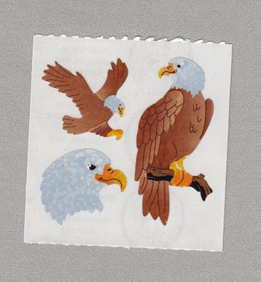 Sandylion Eagles Stickers Rare Vintage PM436