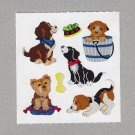 Sandylion Dogs Puppies Stickers Rare Vintage PM454
