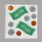 Sandylion Money Stickers Rare Vintage PM460