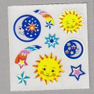 Sandylion Sun Moon Stars Stickers Rare Vintage PM468