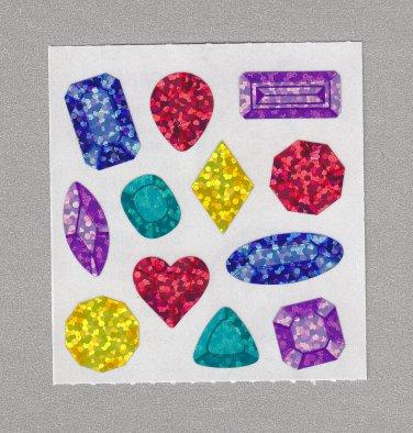 Sandylion Jewels Stickers Rare Vintage PM482