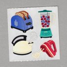 Sandylion Kitchen Appliances Stickers Rare Vintage PM483