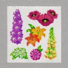 Sandylion Flowers Stickers Rare Vintage PM490