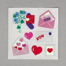 Sandylion Valentine Mail Stickers Rare Vintage PM497