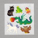 Sandylion Magical Creatures Stickers Rare Vintage PM515