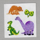 Sandylion Dinosaurs Stickers Rare Vintage PM516