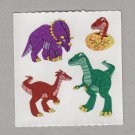 Sandylion Dinosaurs with Egg Stickers Rare Vintage PM520