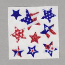 Sandylion America Flag Stars Red White Blue Stickers Rare Vintage PM539