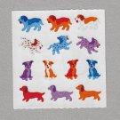 Sandylion Dogs Stickers Rare Vintage PM561