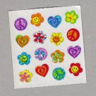 Sandylion Retro Symbols Stickers Rare Vintage PM566