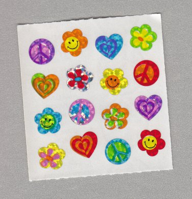 Sandylion Retro Symbols Stickers Rare Vintage PM566