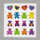 Sandylion Teddy Bears Stickers Rare Vintage PM567