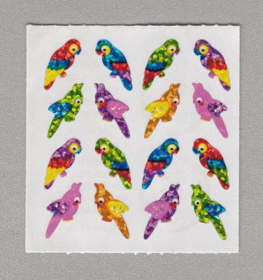 Sandylion Birds Stickers Rare Vintage PM576