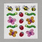 Sandylion Bugs Stickers Rare Vintage PM578