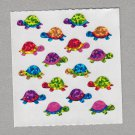 Sandylion Turtles Stickers Rare Vintage PM580