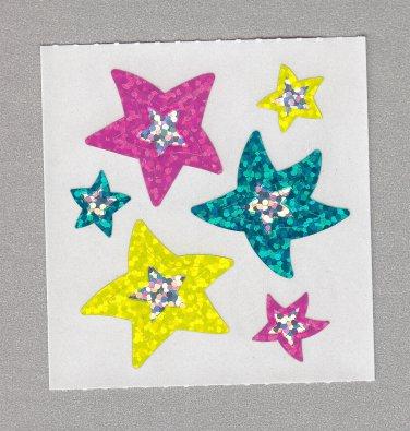 Sandylion Outlines Stars Stickers Rare Vintage PM587