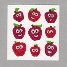 Sandylion Apples with Faces Stickers Rare Vintage PM599