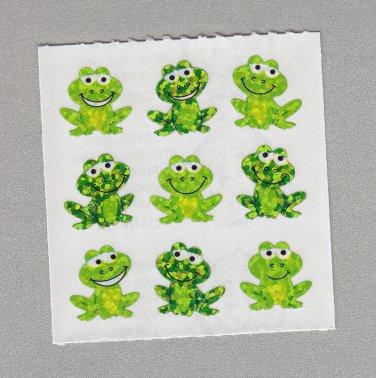 Sandylion Playful Frogs Stickers Rare Vintage PM608