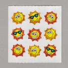 Sandylion Suns with Faces Stickers Rare Vintage PM617