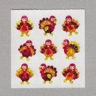 Sandylion Turkeys Stickers Rare Vintage PM618