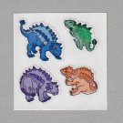 Sandylion Dinosaurs Stickers Rare Vintage PM621