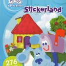 Nickelodeon Blue's Clues - 276 Stickers - Stickerland Sticker Pad