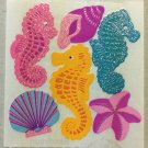 Sandylion Coral Sea Creatures Seahorse Shell Starfish Stickers Rare Vintage GMY2