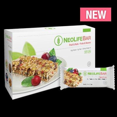 NeoLifeBar (Fruit & Nuts) 15 Bars