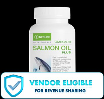 Salmon Oil Plus (90 Capsules)