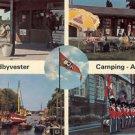 Sundbyvester Camping - Amager Vintage 1970s Postcard Denmark Paper Ephemera