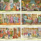 1960 Quinten Matsys (1736) Geography Theme Liebig Trading Card Set of 6