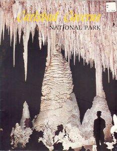 Carlsbad Caverns National Park Souvenir Booklet Vintage Collectible