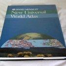 World Atlas New Universal Rand McNally 1994 edition Vintage Collectible Book