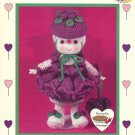 Raspberry Fluff Crochet Doll Pattern Dumplin Designs Lollipop Lane Vintage Patterns