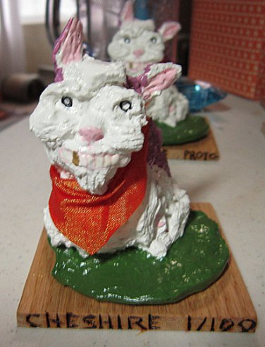 """Cheshire Series 1 """"I Think Outside The Litterbox."""""""