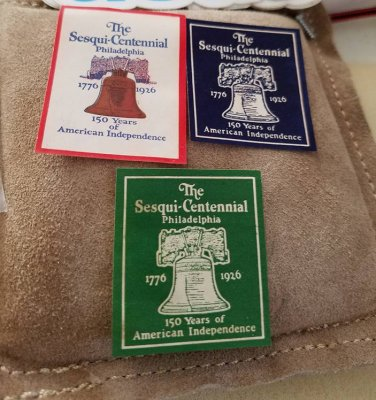 1926 Philadelphia Sesqui-Centennial Stamps Set of 3 different